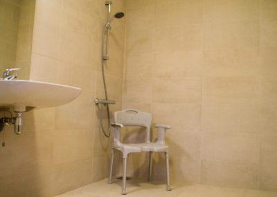 Badkamer andersvalide douche