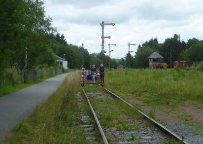 Railbike Kalterherberg (D) - Sourbrodt (B)