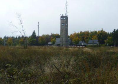 Signal de Botrange op 4 km