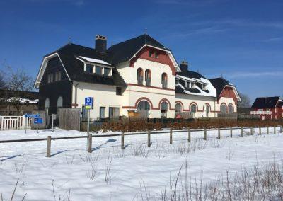 Station Sourbrodt (Sneeuw) op 400m